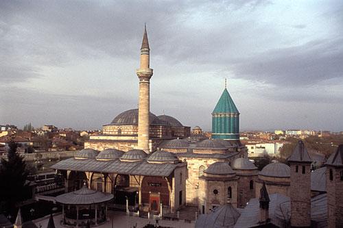 Konya قونیه آرامگاه مولانا
