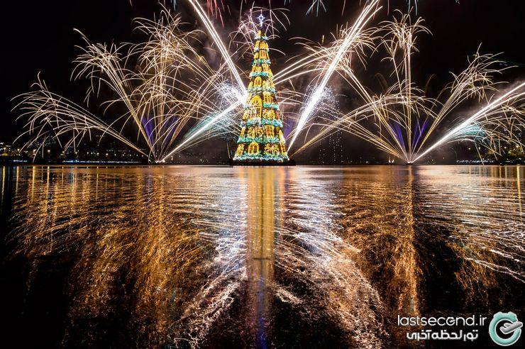 درخت کریمس جشن کریسمس