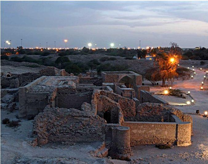 حریره، شهر باستانی جزیره کیش