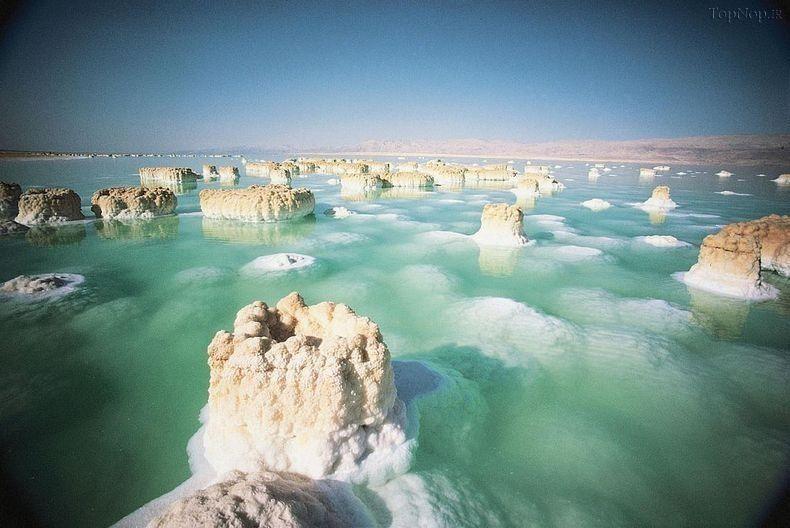 Image result for دریای مرده