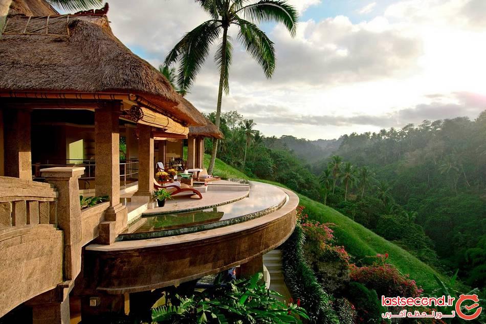 هتل های دیدنی که بهشت روی زمینند