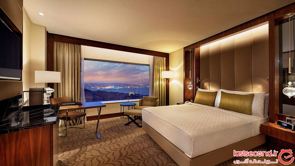 هتل کنراد هیلتون Conrad Hilton ، استانبول ، ترکیه 