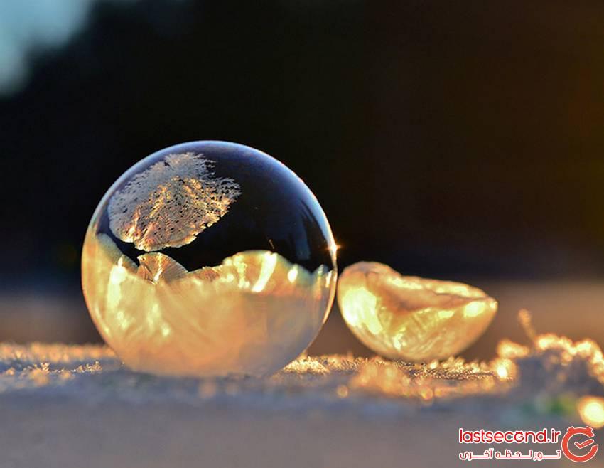 یخ و برف های هنرمند