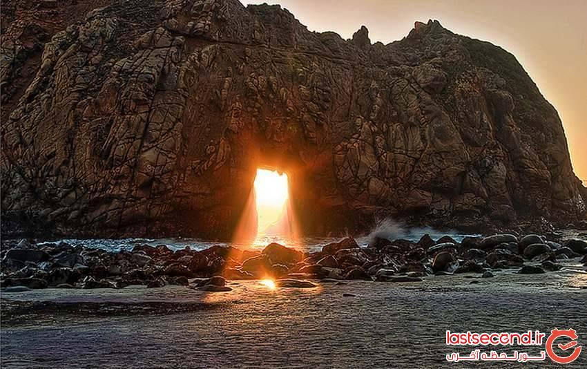 تصاویری شگفت انگیز و زیبا از غروب آفتاب در مناطق مختلف جهان