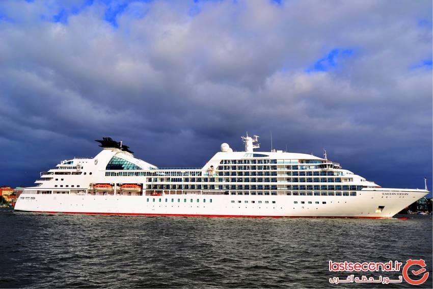 لوکس ترین کشتی های تفریحی جهان