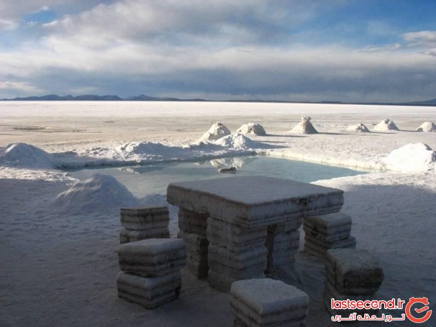 هتل د سل de Salt - هتلی منحصر به فرد ساخته شده از نمک