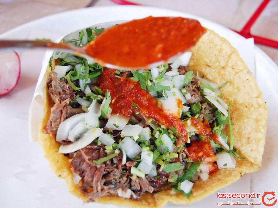تصاویری از غذاهای پر زرق و برق و اشتها آور مکزیکی