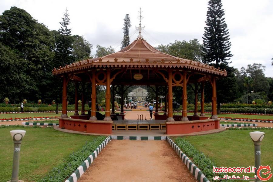 بزرگترین باغ گل و گیاه در هندوستان
