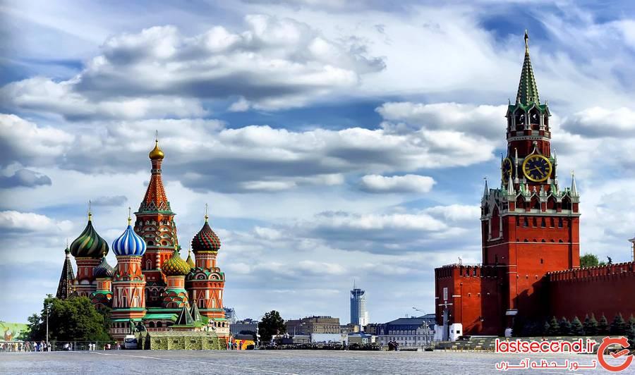 3 معرفی جاذبه های دیدنی  مسکو