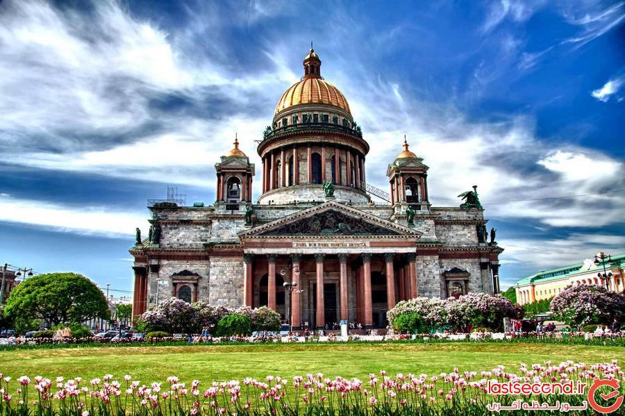 جاذبه های دیدنی روسیه - سنت پترزبورگ