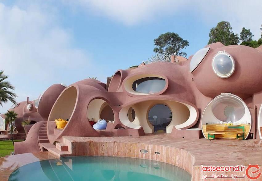 هتل حبابی شکل فرانسه