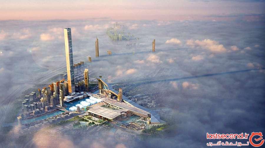 این ساختمان جدید در دبی 5 رکورد جهانی را خواهد شکست