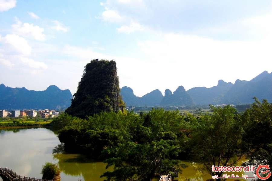 دهکده توریستی جهانگردی توریستی چین Yangshuo County