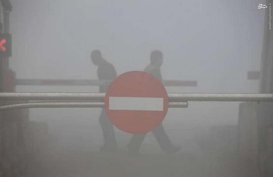 آلودگی هوای بی سابقه در چین+ تصاویر