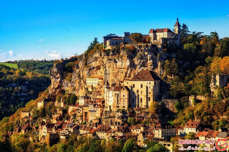 تصاویر زیبا از شهرهای ساخته شده روی صخره
