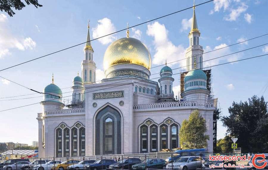 1 بزرگترین مسجد اروپا، در مسکو افتتاح شد