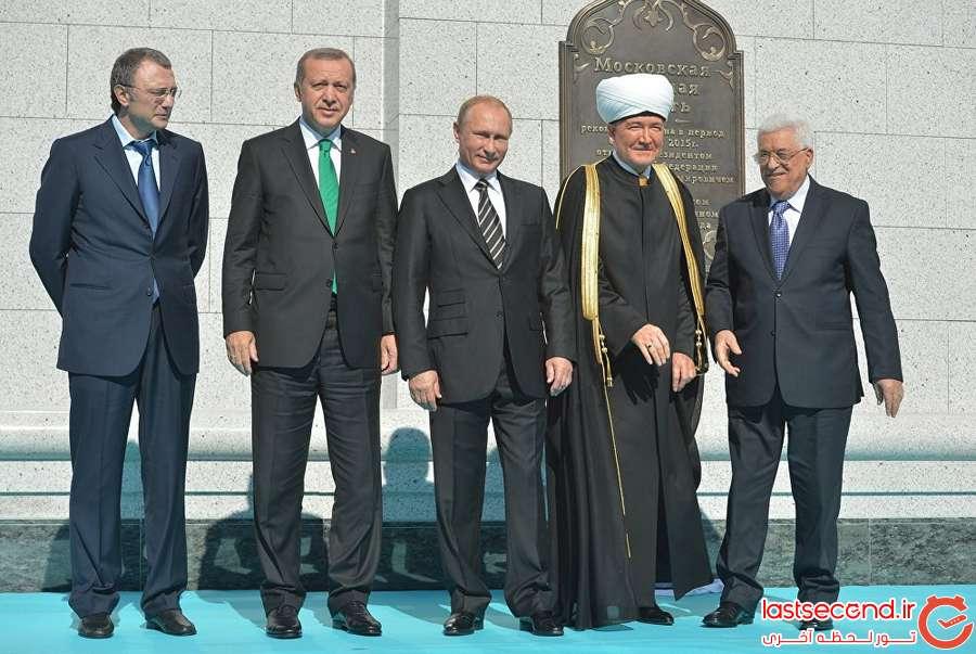 9 بزرگترین مسجد اروپا، در مسکو افتتاح شد