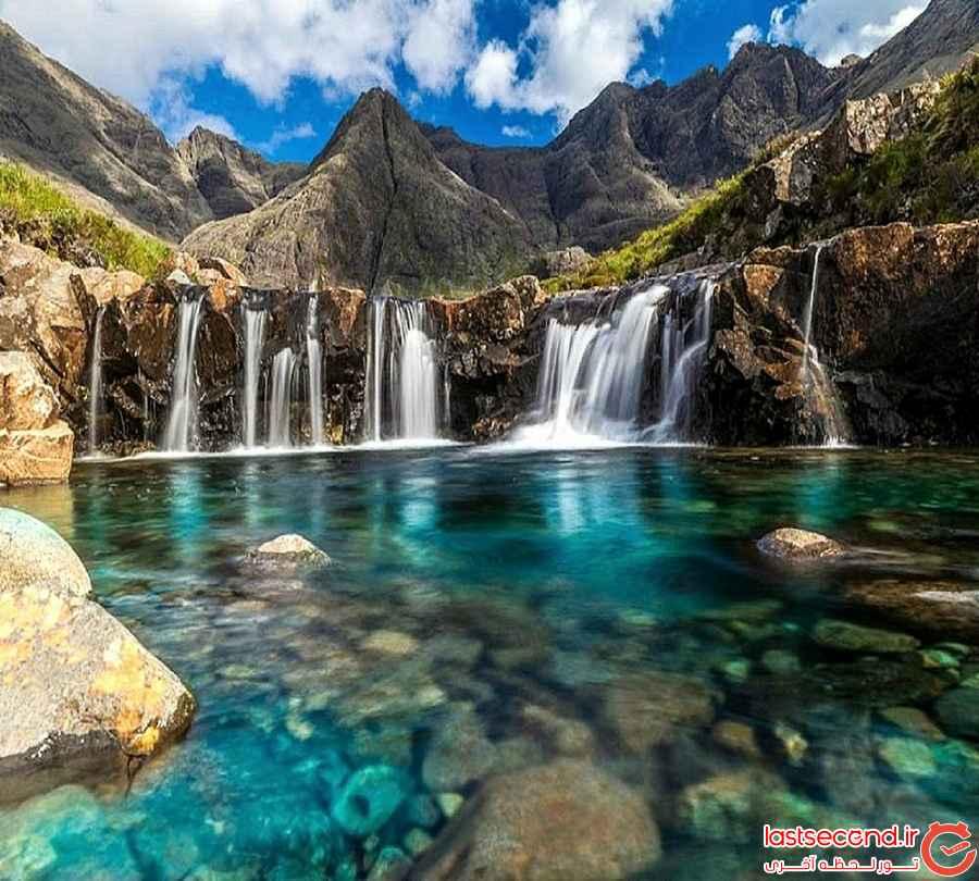 بی نظیر ترین استخر های طبیعی دنیا