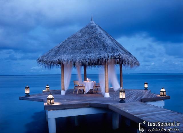 هتل Taj Exotica، هتلی استثنایی در مالدیو