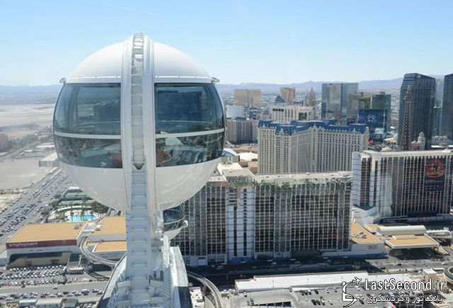 تصاویری از High Wheel، بلندترین چرخوفلک دنیا در لاس وگاس