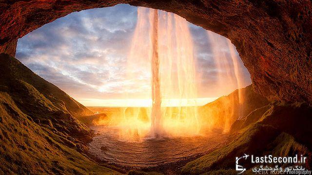 قبل از دیدن عکس ها به فکر تهیه ویزای ایسلند باشید+ تصاویر ۳۶۰درجه