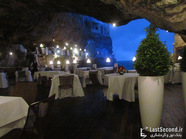 رستوران غاری در ایتالیا