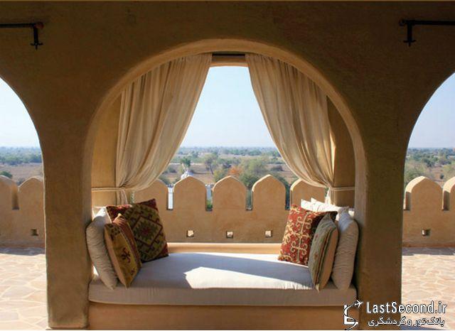 هتل بیابانی «میهیر گره» در هند