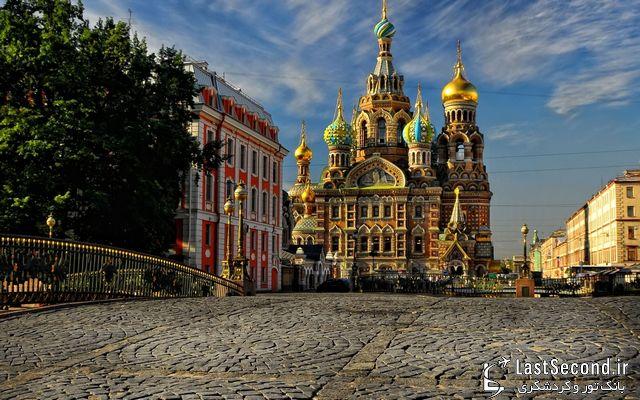 کلیسای ناجی سن پترزبورگ روسیه