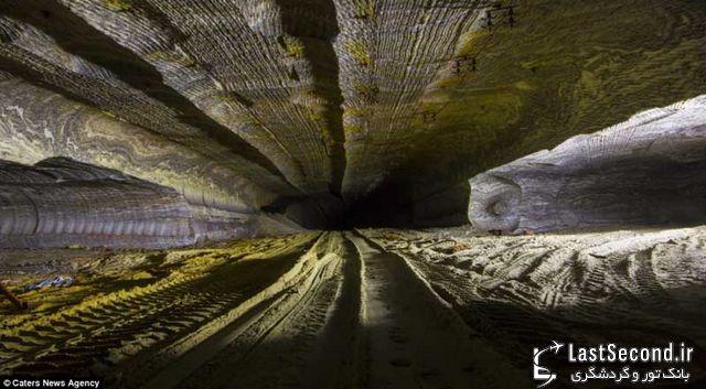 معدن نمک عجیب و شگفت انگیز روسیه از دریچه دوربین