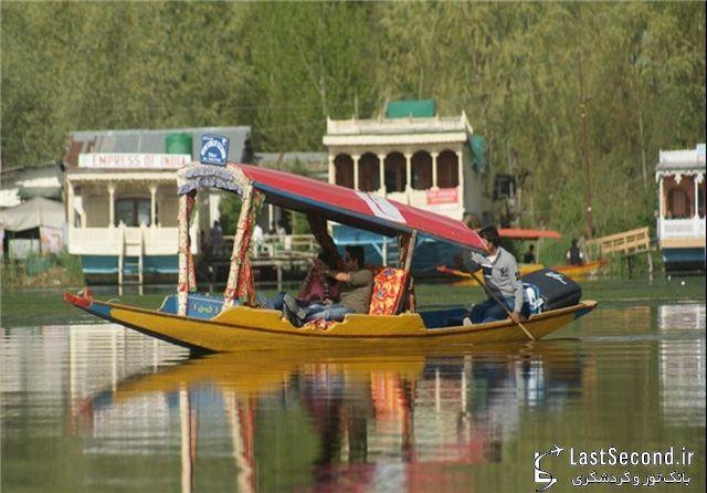 دریاچه نگین جواهری در کشمیر