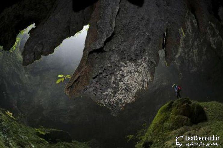 غار سون دونگ ویتنام یکی از بزرگترین غارهای دنیا