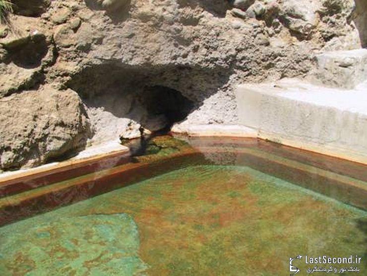 چشمه های آب گرم دماوند