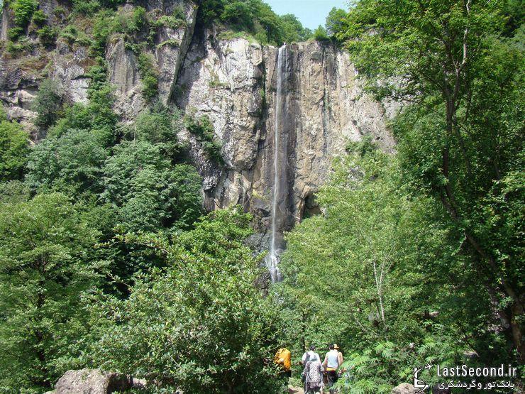 بلندترین آبشار ایران را می شناسید