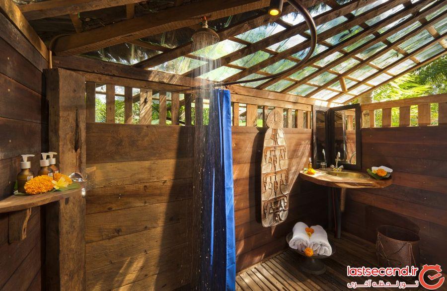 هتل Bambu Indah در بالی