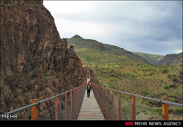 پیرتقی، هیجان انگیزترین پل معلق ایران