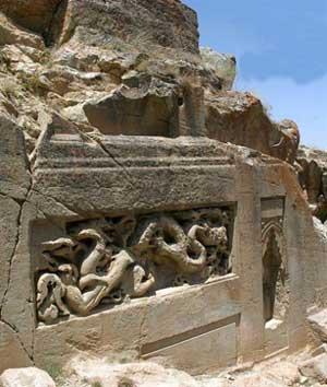 اینجا چین ایران است معبد داش کسن