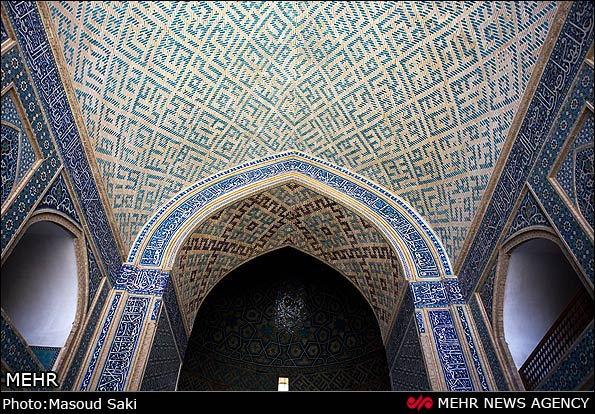 مسجد جامع یزد؛ بلندترین مناره جهان