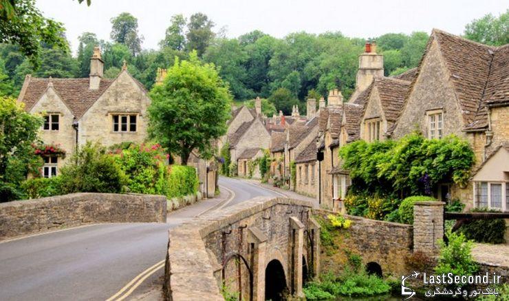 منطقه زیبای کاتزولدز در انگلیس