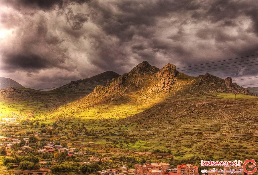 سفرنامه زمینی ارمنستان
