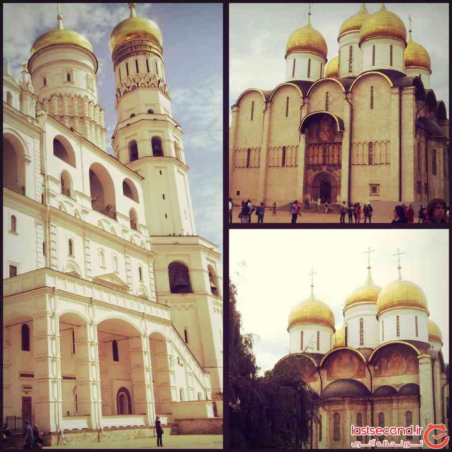 سفرنامه مسکو+سن پترزبورگ
